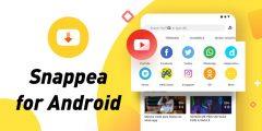 لتحميل الفيديوهات عبر الإنترنت باستخدام Snappea
