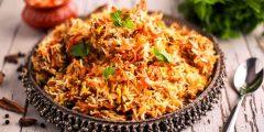 طريقة عمل برياني هندي باللحمة والدجاج